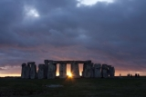 Sunrise at Stonehenge on a special access tour.